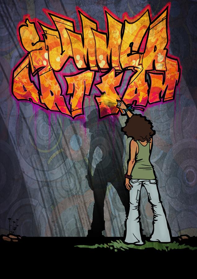 summer art jam posters